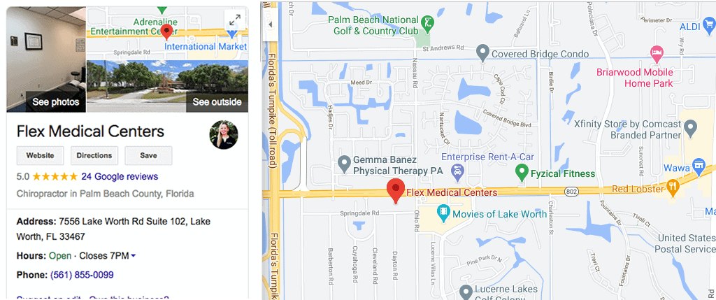 Get Directions to Lake Worth Office